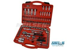 "94PC 1/2"" 1/4"" Socket Set Screwdriver Bit Tool Torx Ratchet Driver extension kit"