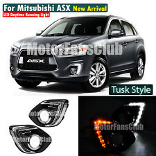 LED Daytime Running Light For Mitsubishi ASX Outlander Sport DRL 2013 14 Signal