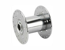 "A pair of Steel Hollow Hub 36h 80g Chrome for 5/8"" axle"