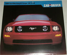 2005 Ford Mustang GT ht car print (red)
