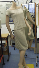 Joseph Ribkoff UK 10 BNWT Fabulous Pale Gold Matching Cap Sleeve Top & Skirt Set