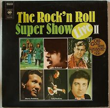 Rock'N'Roll Super Show Live II 1972 2LP FOC Perkins