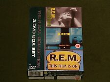 REM COLLECTION 3x DVD BOX SET TOURFILM PARALLEL THIS FILM IS ON Live Footage NEW