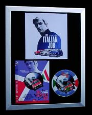 MICHAEL CAINE+SIGNED+FRAMED=ITALIAN+MINI+CARTER+ZULU=100% FAST+FAST GLOBAL SHIP!