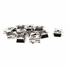 10PCS NEW Mini USB Type B Female 5 Pin PCB Board Mount Jack Charger Connector