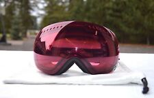 2014 DRAGON APXs SNOWBOARD GOGGLES $270 one black burgundy lens anti-fog USED