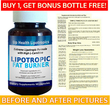 L CARNITINE FAST FAT WATCHERS SLIMMING PILLS LOSE WEIGHT SLIM & FATBURNER 3