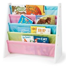 Toddler Storage Bookcase Small Bookshelf Kids Girls Organizer Books Fairy Tale