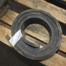 Heavy duty rubber strip skirting pad block mats 20mm thick x 100mm x approx. 2m
