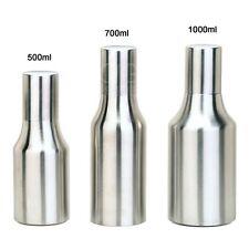 500mL Stainless Steel Dust-proof Edible Oil Pot Sauce Vinegar Bottle Dispenser
