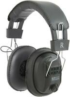 AV:Link 100.616 MSH60 Switchable Mono/Stereo Headphones With Volume Control New