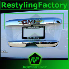 15-16 GMC Yukon+XL Triple Chrome Upper Liftgate Tailgate Handle Accent Cover2016
