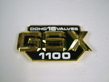 SUZUKI GSX1100, GSX1100E  '80 - '83 SIDE COVER BADGE, NEW REPRODUCTION.