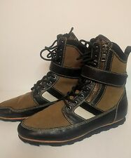 Creative Recreation Pilotto Fashion Sneaker Sz 10 (Army) Hi top Boot