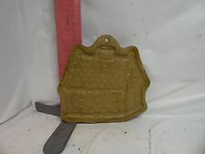 BROWN BAG COOKIE ART GINGERBREAD HOUSE COOKIE MOLD - NO DATE , NO DAMAGE!
