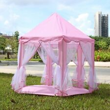Portable kids Princess Castle Play Tent Activity Fairy House Fun Playhouse toy