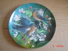 Knowles Collectors Plate THE BLUEBIRD SIALIA SIALIS