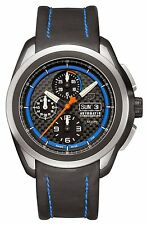 Luminox 5261 XCOR Aerospace Automatic Valjoux Titanium Chrono Leather Band Watch