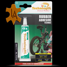 Gomma colla adesiva adeguata per signore Mens Kids Bike INNER TUBE Puncture patch FIX