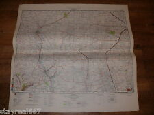 Authentic Soviet Russia Military Topographic Map Roswell, New Mexico, USA #149
