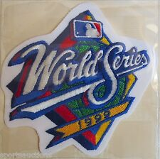 1999 WORLD SERIES ~ NEW YORK YANKEES / ATLANTA BRAVES Willabee & Ward PATCH ONLY