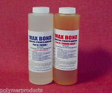 EPOXY RESIN STRUCTURAL STRENGTH GLUE VERY STRONG  BOND MARINE GRADE 1 QUART KIT