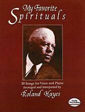 My Favorite Spirituals 30 Songs for Voice and Piano Roland Hayes Sheet Music S61