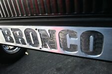 Early Ford Bronco Door Scuff Plate ONE PAIR 1966 - 1977 from COAST WEST MFG.