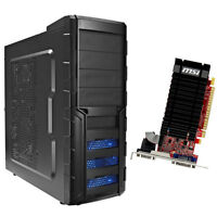 Computer Gamer Aufrüst PC AMD FX-4300 4x3,8GHz 8GB DDR3 NVIDIA GeForce GT610 2GB