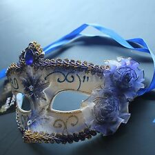 Pretty Lady Floral Venetian Masquerade Mask 10+ Colors to pick for party display