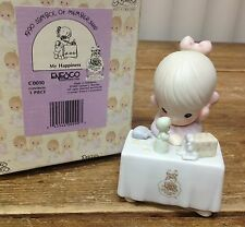 Precious Moments 1990 Symbol of Club Membership My Happiness C0010 Open Box Coin