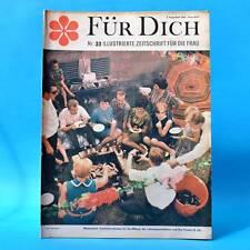 DDR FÜR DICH 33/1967 Buckow Garz Putbus Meiningen Schauspielschule Berlin Grenze