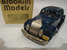1/43 BROOKLIN 7 CHRYSLER AIRFLOW 4 DOOR SEDAN 1934 BLUE