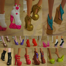 hotsell quality Original 5 pairs shoes for The monster high Doll Party a3000