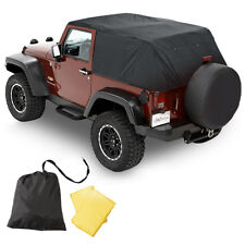 Pavement Ends Emergency Top Quick Protection 07-16 Jeep Wrangler JK 2 Door Black