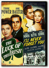 The Luck of the Irish/I'll Never Forget You DVD New Tyrone Power Anne Baxter