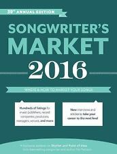 Songwriter's Market 2016: Where & How to Market Your Songs-ExLibrary