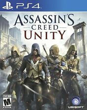 ASSASSINS CREED UNITY PS4 Game (PRE OWNED) (USED) Excellent Condition