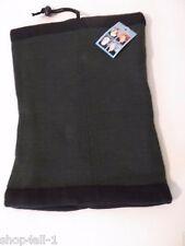 4 In 1 Knit Fleece Gaiter Neck Warmer Headgear Unisex One Size Reversible New