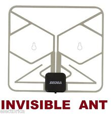 INVISIBLE HD TV WINDOW DIGITAL ANTENNA W/ DTV Booster CAMP RV OVER THE AIR CONDO