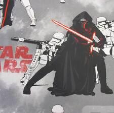 Stoff Meterware Baumwolle Star Wars Kylo Ren Smoke Awaken Jedi Preis pro Meter