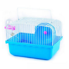 Hamster Habitat Cage Gerbil Rat Mouse Travel House Pet Carrier  23*17*16.5cm