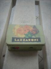 scatola piccola  in latta cm.9x6x3 LAZZARONI