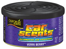 Aromas de California Home Car orgánicos ambientador Freshner Tin Can-Verri Berry