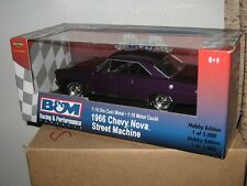 ERTL 1/18 1966 Nova Street Machine 1 of 5000  '66 Nova Nice *Hot Rod*