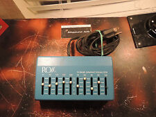 VINTAGE ROSS 10-BAND EQUALIZER EQ EFFECTS UNIT ORIGINAL RARE FREE USA SHIPPING