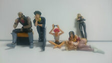 Cowboy Bebop mini Figure set of 5 official anime Complete Set