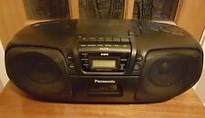 PANASONIC RX-DS25 PORTABLE STEREO CD SYSTEM TAPE CASSETTE PLAYER RADIO BOOMBOX
