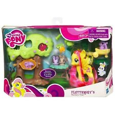 My Little Pony FIM Fluttershy Nursery Tree Figure Playset!