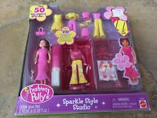 Fashion Polly Pocket Sparkle Style Studio  Doll Accessories Playset New Lila